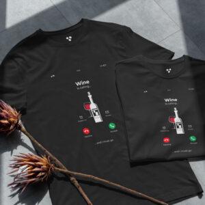 Pamučna majica USV – Wine is Calling